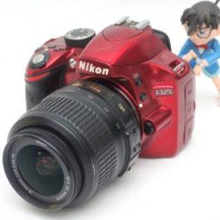 Jual Kamera DSLR Bekas Nikon D3200 Spek : Kit 18-55mm VR