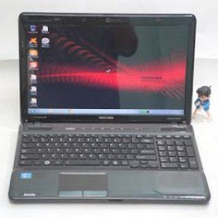 Laptop bekas Toshiba P755 Core i7