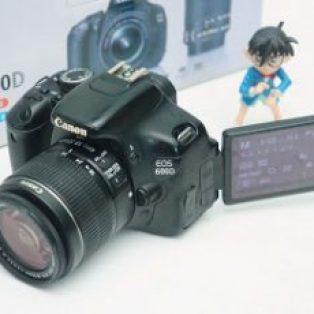 Jual Canon EOS 600D+ Kit Bekas