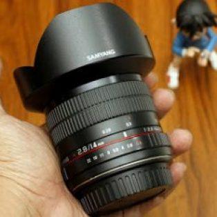Jual Lensa Samyang 14mm f2.8 AS IF UMC for Canon