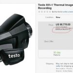 Jual Testo 885 – 2 Professional Thermal Imager