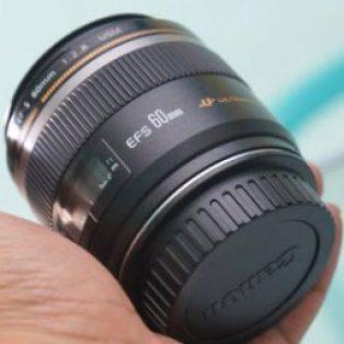 Jual Lensa Canon EF-S 60mm f2.8 USM ( UltraSonic Motor )