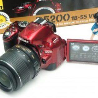 Jual Kamera Nikon D5200 Bekas