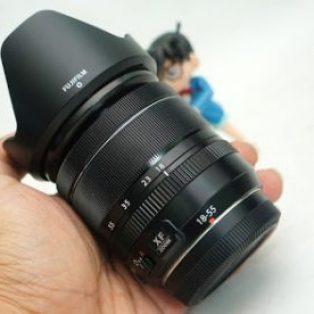 Jual Lensa Fujifilm XF 18-55mm f2.8-4 OIS ( Mirrorless ) Bekas