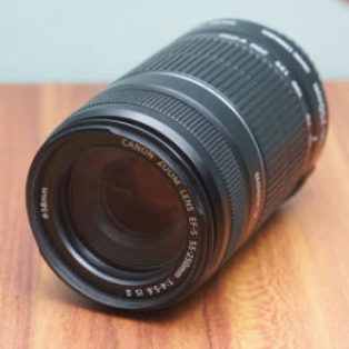 Jual Lensa Canon 55-250mm IS2 Bekas