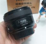 Jual Lensa Fix 50mm AFS Nikon Yn-Yongnuo 50mm Bekas