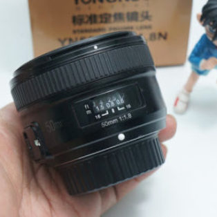 Jual Lensa Fix 50mm AFS Nikon Yn-Yongnuo 50mm Bekas