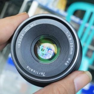 jual lensa 7artisans 25mm f1.8 bekas for sony e