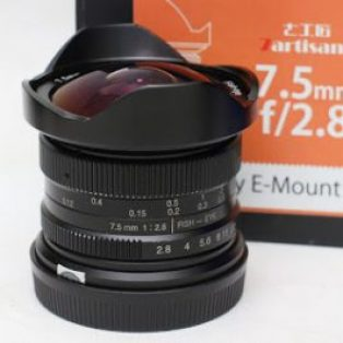 Jual Lensa 7artisans 7.5mm f2.8 for Sony E Mount Bekas