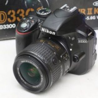Jual Nikon D3300 + Kit Kamera DLSR Bekas
