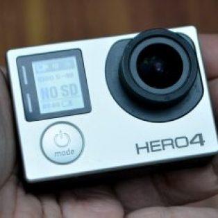 Go Pro Hero 4 Silver