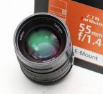 Jual Lensa 7Artisans 55mm f1.4 For Sony E-Mount