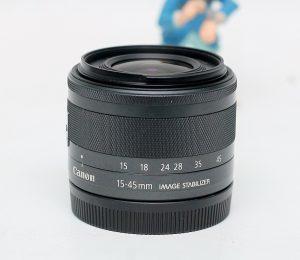 jual lensa canon ef-m 15-45mm stm