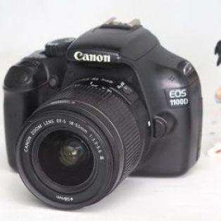 Jual 2nd Canon EOS 1100D DSLR