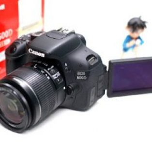 Jual 2nd Canon EOS 600D