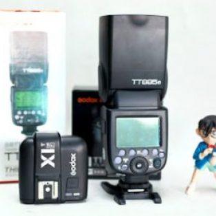 Jual Trigger X1TF dan Flash Godox TT685F for Fujifilm