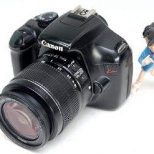 Jual Kamera DSLR Canon Kiss X50 Bekas