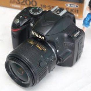 Jual Nikon D3200 DSLR Bekas