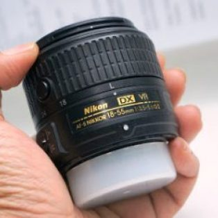 Jual Lensa Kit 18-55mm Nikon Bekas