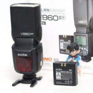 Jual Godox V860II Fujifilm TTL HSS Flash