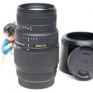 Jual Lensa Tele Sigma 70-300 for Canon Bekas