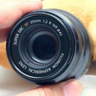 Jual Lensa 2nd Fujifilm XF35mm f2 R WR ( for mirrorless Fuji )