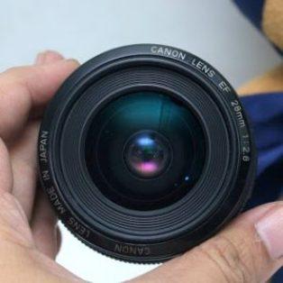 Jual Lensa Fix Canon EF 28mm f2.8 USM