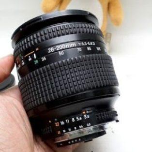 jual Lensa AF-D Nikon 28 – 200mm f3.5-5.6 D