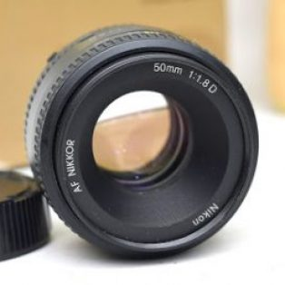Jual Lensa Fix Nikon 50mm AF-D f : 1.8