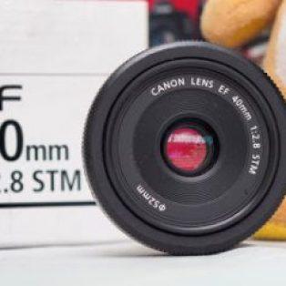 Lensa Canon 40mm Bekas