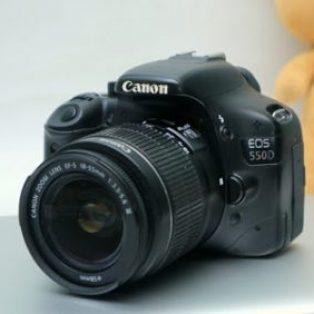 Jual Kamera Bekas DSLR Canon Eos 550D