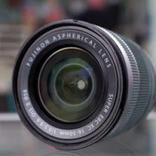 Jual Lensa Mirrorless Kit Fujifilm 16-50mm Bekas