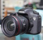 Jual Canon EOS 7D + lensa Canon 24-70mm f4L IS USM