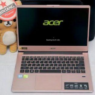 Jual Laptop Acer Swift 3 SVF314 Core i7 Gen 8 Bekas