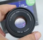 Jual Lensa Fix 7Artisans 50mm f1.8 Bekas for M4/3