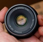 Jual Lensa Fix 7artisans 25mm f1.8 for Canon EF-M ( mirrorless ) bekas