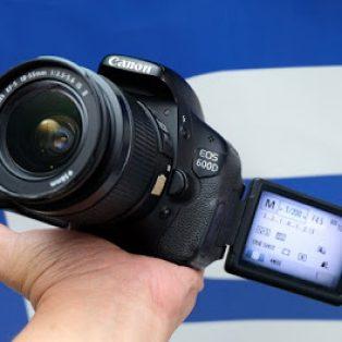 Jual Canon EOS 600D