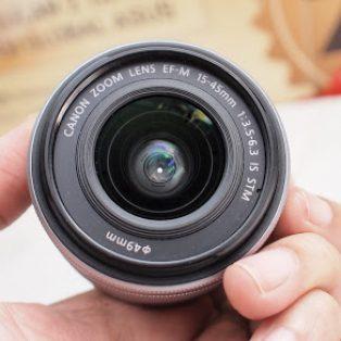 Jual Lensa Kit Canon 15-45mm STM