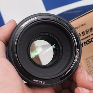 Jual Lensa Yongnuo 50mm f1.8 for canon Bekas