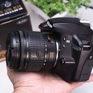 Jual Nikon D3400 bekas di malang