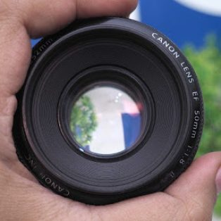 Jual Lensa Fix Canon 50mm f1.8 II