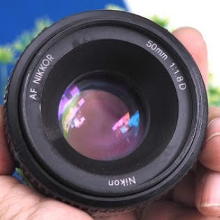 Jual Lensa Fix Nikon 50mm AF-D