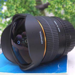 Jual Lensa Wide – Fish Eye Samyang 8mm f3.5