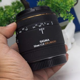 Sigma 50mm f2.8 EX DG Macro for Canon Bekas