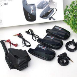 Jual Mic External Lensgo LWM -308C ( Double Dual Wireless )