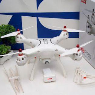 Jual Drone Syma X8 Pro Bekas + Tambahan Kamera Action Cam Bcare X4 4K