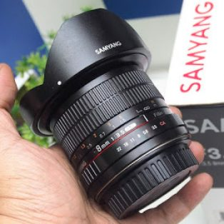 Jual Samyang 8mm f3.5 CSII for canon