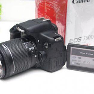 Jual Canon EOS 750D  – Lensa Kit 18-55mm STM