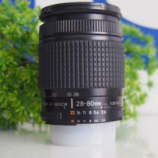 Jual Lensa Nikon AF-D 28-80mm f3.5-5.6