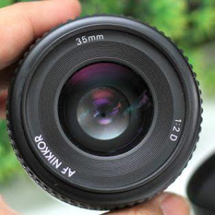 Lensa Fix Nikon AF-D 35mm F2 Bekas
